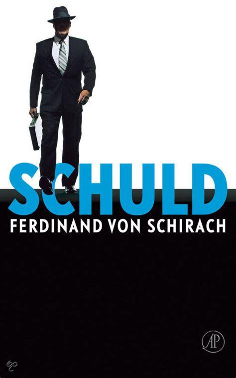 film schuld ferdinand von schirach bol com schuld ferdinand von schirach 9789029576130