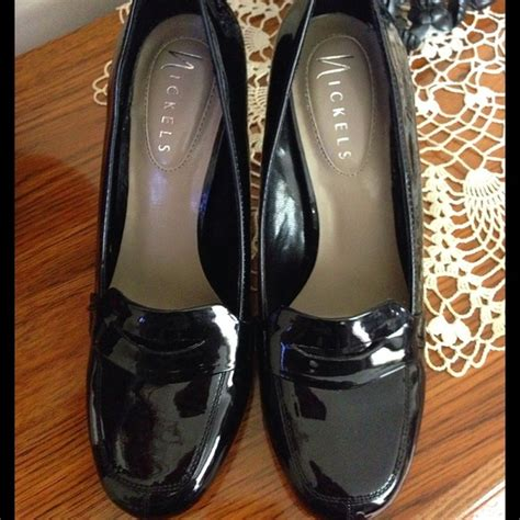 nickels shoes nickels nwot loafer style 3 inch pumps size 6