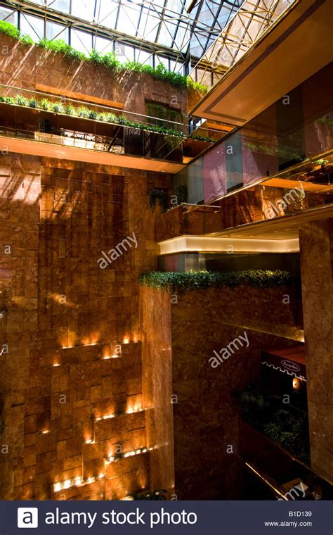 trump tower gold pan up stock video footage 9571267 interior of trump tower new york stock photo royalty