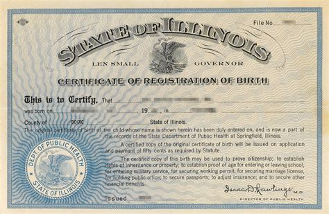 Illinois Vital Records Certificate Fact Check Illinois Single Birth Certificate Controversy