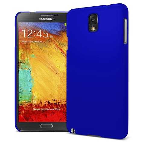 Hardshell For Samsung Galaxy Note 3 shell feather samsung galaxy note 3 blue
