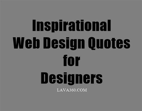 website design inspiration quotes 18 inspirational quotes on design be inspired