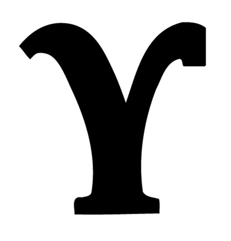 Removable Nursery Wall Stickers black greek letter y upsilon wall stickers decals graphics