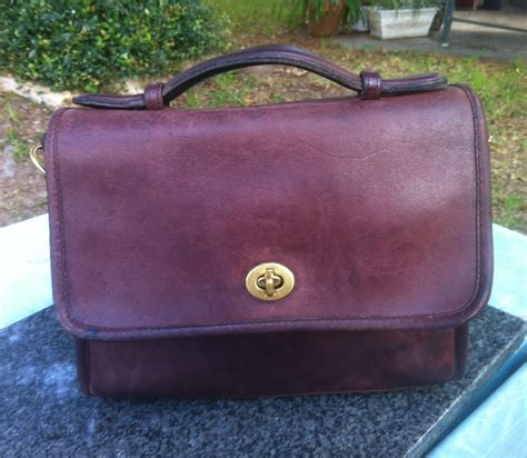Coach Authentic 8 vintage coach with 8 digit serial number authent the ebay community