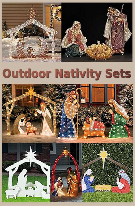 nativity yard decorations a listly list