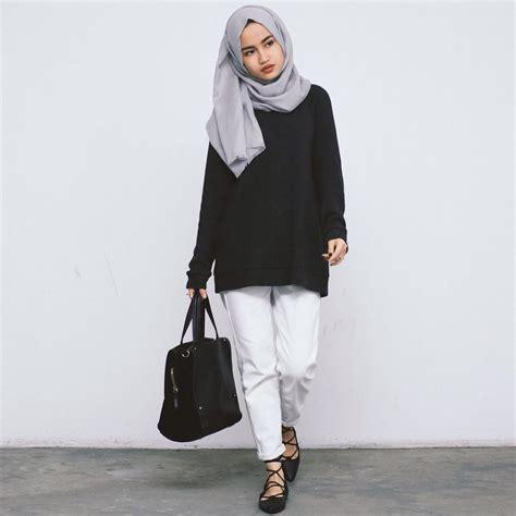 Dress Kemben Hitam Polos Fashion Cewek Anggun trend model busana muslim 2017 siap percantik penilan