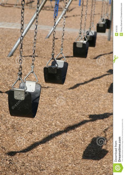 swing row row of swings royalty free stock photo image 876105