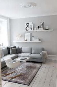 Gray Living Rooms by Decordots Interior Inspiration Grey Walls