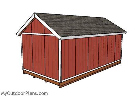 shed doors plans myoutdoorplans  woodworking
