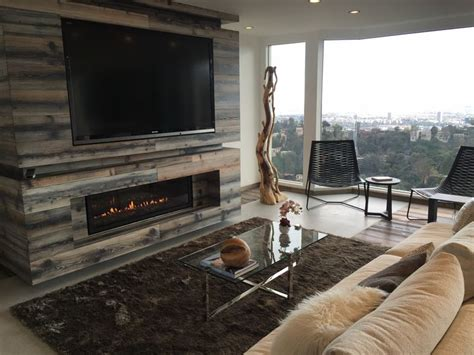 napoleon s lhd50 linear fireplace with tv above