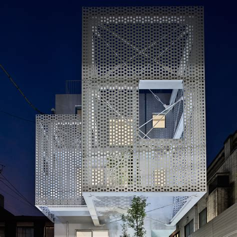 perforated metal facade www pixshark images