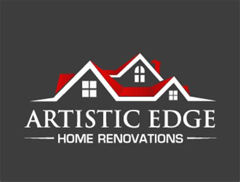 artistic edge home renovations logo design 48hourslogo