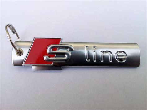 Audi S Line Schriftzug by Audi S Line Schl 220 Sselanh 196 Nger Embleme Schriftzug Quattro