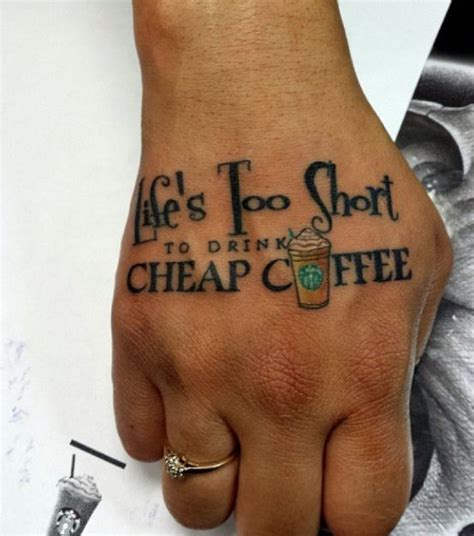 small cheap tattoos 37 best images about barista on leaf