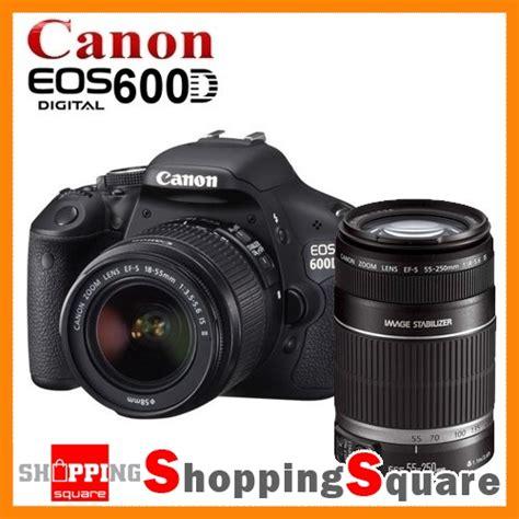 Canon 600d Kit Ii new canon eos 600d lens kit 18 55mm ii 55 250mm