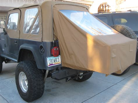 jeep bed in back get a pickup on the jeep the truth about cars