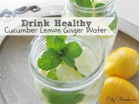 Detox Water Cucumber Lemon Root by Cucumber Lemon Water The Healthy Summer