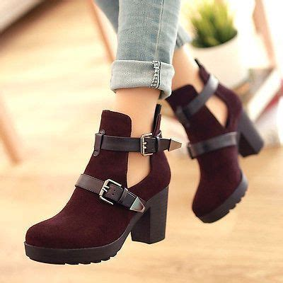 Highheels Semi Boots 20 different kinds of ankle high booties zapatos botas