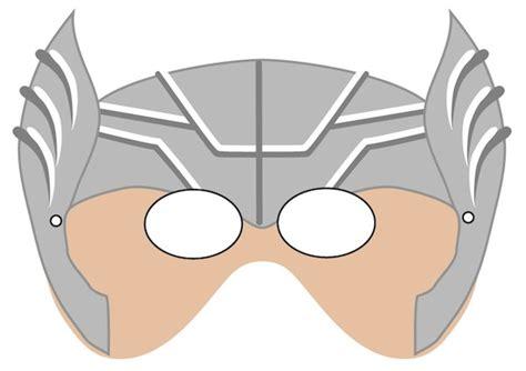 thor helmet template printables