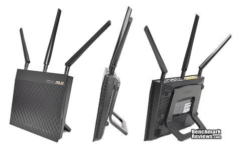 Router Asus 3 Antena asus rt ac66u wireless 802 11ac wi fi router review rt