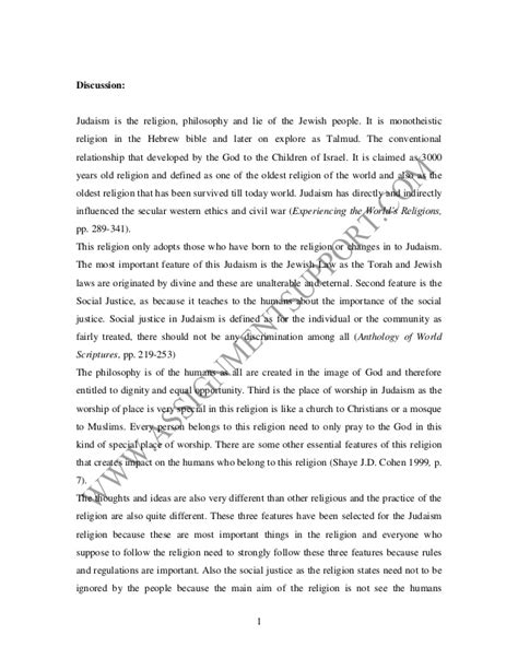 Theology Essay by Religion Essay Essay Sle From Assignmentsupport Essay Writing