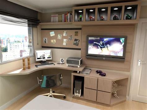tv stand with computer desk as 20 melhores ideias de mesa computador no