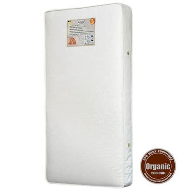 organic baby mattress afg 260 coil organic crib mattress free shipping 169 00