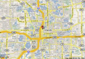 Map Of Downtown Orlando by Map Of Courtyard By Marriott Orlando Downtown Orlando