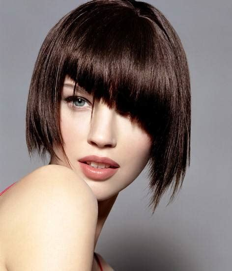 curly asymmetrical bob hairstyle 15 short bob hairstyles not to miss the hairstyle