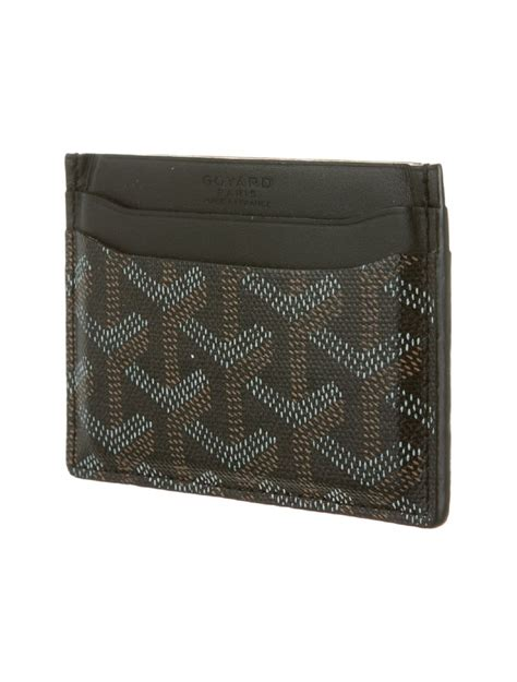card accessories goyard sulpice card holder accessories 0go20010 the realreal