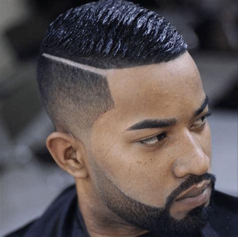imagen de corte de pelo con linea 2016 lineas para el pelo hombres