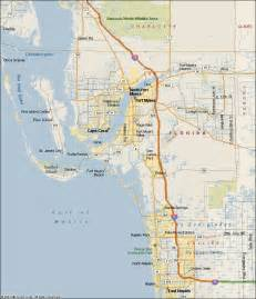 map of south west florida coast pictures to pin on