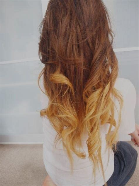 rown hair with blonde ends 48 best images about hair stles color on pinterest