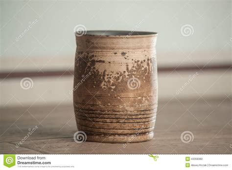 Handcrafted Tea - traditional handcrafted mug stock photo image 43358380