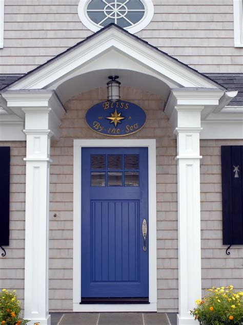 blue house white trim front door 17 best images about house exteriors on pinterest house