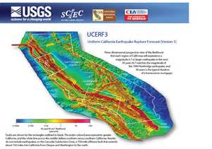 us geological survey earthquake map california earthquakes ucerf3