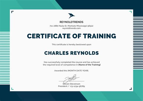 template training course certificate template of completion jedi
