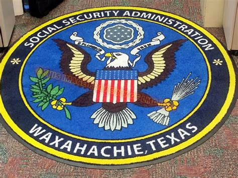 Social Security Office Waxahachie Tx by Logo Mat Central Custom Logo Mat Sles Image Gallery