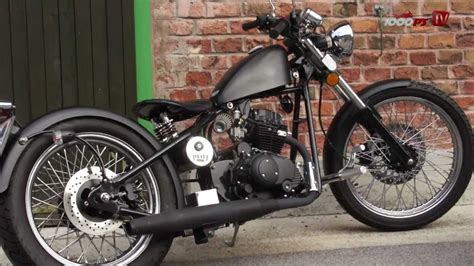 125er Motorrad Tuning Teile by Heist Bobber Chopper Testride