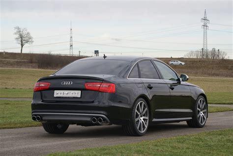 Davantage de puissance en grâce à un bouton : l'Audi MTM S6 Sedan C7