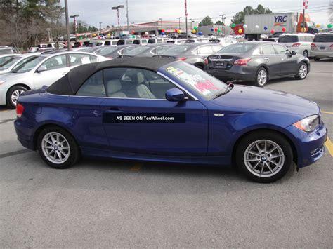 2011 bmw 128i 2011 bmw 128i convertible 2 door 3 0l