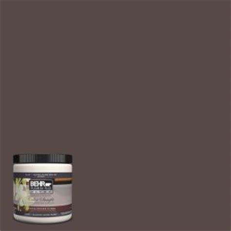 behr premium plus ultra 8 oz ul140 2 truffle interior exterior paint sle ul140 2 the
