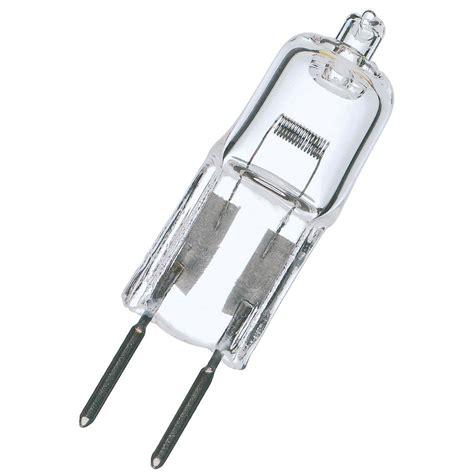 Halogen Desk L Fuse Satco Lighting 50 Watt Low Voltage T4 Halogen Light Bulb