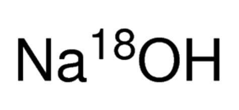 Naoh Sigma sodium hydroxide 18o solution 20 in h218o 95 atom 18o 97 cp sigma aldrich