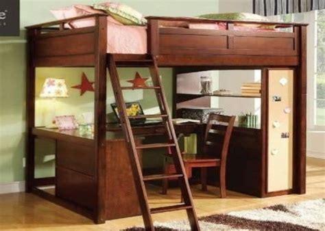 full size loft bed  desk plans digital photo