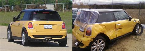 wrecked car before and after pictures of wrecked cars car image