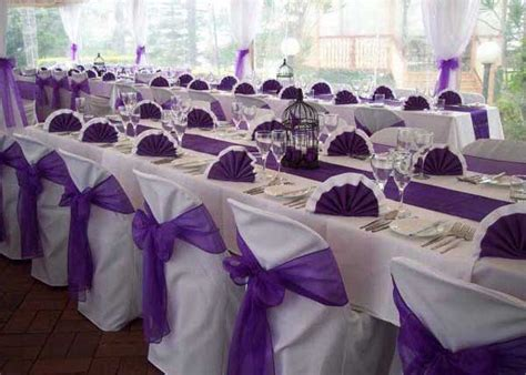 Wedding decoration ideas purple and white gallery kotaksurat wedding decoration ideas purple and white gallery junglespirit Image collections