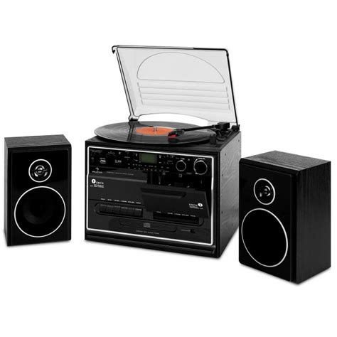 mini stereo system with cassette player 388 bt hifi cd stereo system turntable cassette bluetooth