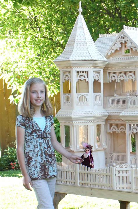 large doll house plans giant doll house plans