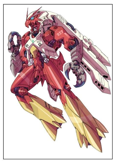 7 Awesome Robot Personalities by Mecha Blaziken Gundam Meets Mechs And Robot